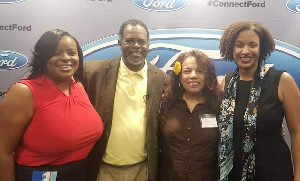 Chaun Avery, William Jackson, Aida Correa and Theresa Campbell